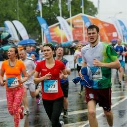 The 26th Lattelecom Riga Marathon - Laura Adamoviča (9473), Jekaterina Taurina (12427)