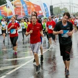 The 26th Lattelecom Riga Marathon - Jeļena Ņesterova (10029), Jānis Kadeģis (12314)