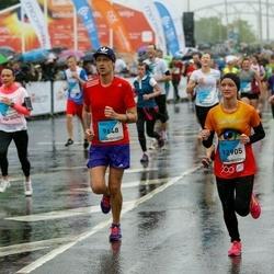 The 26th Lattelecom Riga Marathon - Jānis Aleks (9648), Elza Pulkstene (12905)