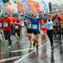 The 26th Lattelecom Riga Marathon - Sandra Bruņeniece (8371), Juris Lauriņš (8493), Andris Rancāns (11229), Reinis Tops (11701)