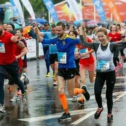 The 26th Lattelecom Riga Marathon - Sandra Bruņeniece (8371), Andris Rancāns (11229), Reinis Tops (11701)