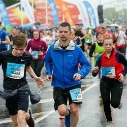 The 26th Lattelecom Riga Marathon - Dairis Jankovskis (9305), Kaldis Bērziņš (10406), Elīna Tauvēna (10486)