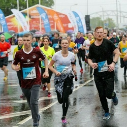 The 26th Lattelecom Riga Marathon - Aleksandrs Aļabjevs (9993), Anete Vasiļjeva (11156), Gatis Lataks (12233)