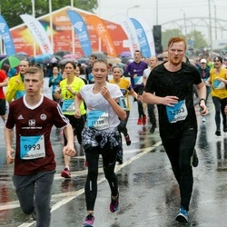 The 26th Lattelecom Riga Marathon - Aleksandrs Aļabjevs (9993), Katrīna Anna Ozoliņa (11155), Anete Vasiļjeva (11156), Gatis Lataks (12233)