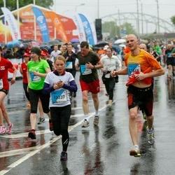 The 26th Lattelecom Riga Marathon - Māris Dārznieks (12645), Linda Žukovska (13337)