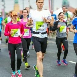 The 26th Lattelecom Riga Marathon - Jane Vahemäe (2899), Kalvis Upītis (6333)