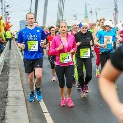 The 26th Lattelecom Riga Marathon - Sabine Schulz-Bongert (2894), Adrian Cormicle (2918), Emīlija Karpova (6528)