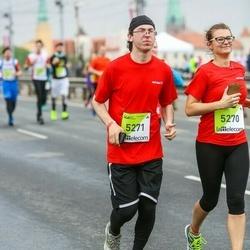 The 26th Lattelecom Riga Marathon - Zane Dovgane (5270), Kristaps Blekte (5271)