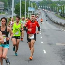 The 26th Lattelecom Riga Marathon - Vytautas Anuzis (550), Gintaras Andruska (4223)