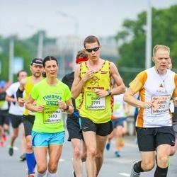 The 26th Lattelecom Riga Marathon - Jurijs Dorofejevs (212), Kristiina Nurk (2693), Ēriks Buivids (3791)