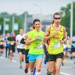 The 26th Lattelecom Riga Marathon - Kristiina Nurk (2693), Ēriks Buivids (3791)