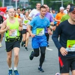 The 26th Lattelecom Riga Marathon - Māris Rumpe (400), Agris Kamenders (3208)