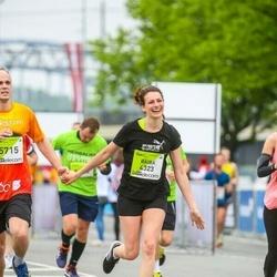 The 26th Lattelecom Riga Marathon - Baiba Ažušele (4323), Dagnis Boltrikovs (5715)