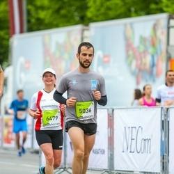 The 26th Lattelecom Riga Marathon - Angelos Theodorakopoulos (5036), Kathrin Bytomski (6479)