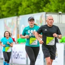 The 26th Lattelecom Riga Marathon - Agnese Wadsworth (4234), Jānis Ozers (6281)