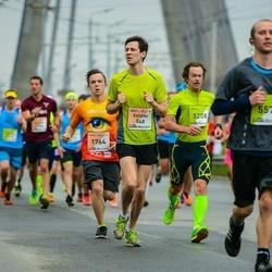 The 26th Lattelecom Riga Marathon - Evgenii Vorobev (548), Mārtiņš Plaudis (1764)