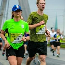 The 26th Lattelecom Riga Marathon - Costanza Martella (3682), Aleksis Kerno (6302)