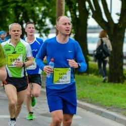 The 26th Lattelecom Riga Marathon - Gatis Silins (3821), Aloyzas Urbikas (5979)