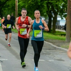 The 26th Lattelecom Riga Marathon - Raivis Pridāns (5647), Aija Rensta (6507)