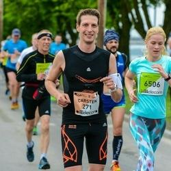 The 26th Lattelecom Riga Marathon - Carsten Behrendt (271), Agnese Sperga (6506)