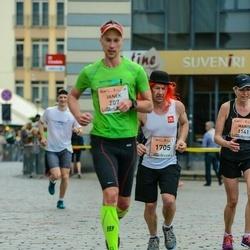 The 26th Lattelecom Riga Marathon - Janek Oblikas (207), Arnis Ābelīte (1705)