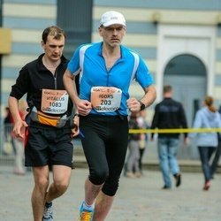 The 26th Lattelecom Riga Marathon - Igors Sulzenko (203), Vitālijs Petuhovs (1083)
