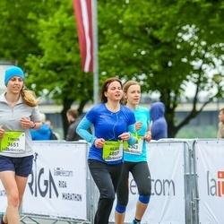The 26th Lattelecom Riga Marathon - Timur Abishev (3651), Alise Eljašāne (4857)