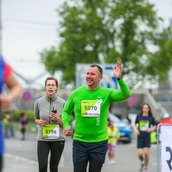 The 26th Lattelecom Riga Marathon - Pāvels Grigorjevs (5070), Elīna Skudra (5196)
