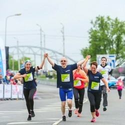 The 26th Lattelecom Riga Marathon - Jurģis Bokans (3369), Raimonds Zoltners (3370), Evita Zoltnere (4357)