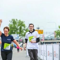 The 26th Lattelecom Riga Marathon - Evita Zoltnere (4357), Sergejs Bogdanovs (6197)