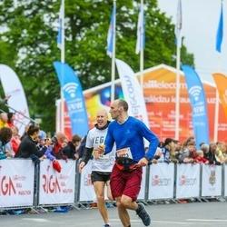 The 26th Lattelecom Riga Marathon - Denis Prikulis (68), Ivars Vertuls (1773)