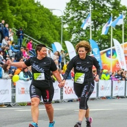 The 26th Lattelecom Riga Marathon - Pernille Kibsgaard Vardinghus (4096), Tanja Thomsen (4159)