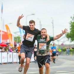 The 26th Lattelecom Riga Marathon - Genadijs Beļajevs (573), Māris Arājs (1719)