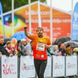 The 26th Lattelecom Riga Marathon - Mārtiņš Ēķis (1738)