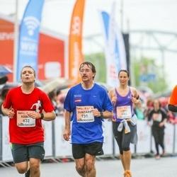 The 26th Lattelecom Riga Marathon - Kārlis Būmans (632), Guntars Bumans (731)