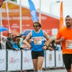 The 26th Lattelecom Riga Marathon - Dovydas Sankauskas (821)
