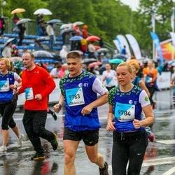 The 26th Lattelecom Riga Marathon - Iveta Kļaviņa (9783), Artis Kļaviņš (9784)