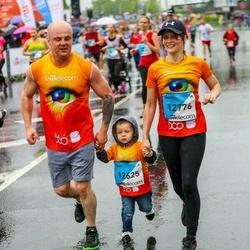 The 26th Lattelecom Riga Marathon - Ruslans Bilonoga (12625), Zita Purene (12776)