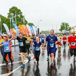 The 26th Lattelecom Riga Marathon - Elīna Rasmane (13961), Ritvars Bīders (13964), Agris Stūris (14098)