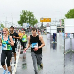 The 26th Lattelecom Riga Marathon - Aleksandrs Mirošņikovs (8778), Anastasija Smirnova (8779)