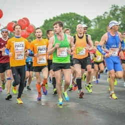 The 26th Lattelecom Riga Marathon - Francis Bak (238), Uldis Kļaviņš (1574), Reinis Tops (1576), Oskars Fridmanis (3144)