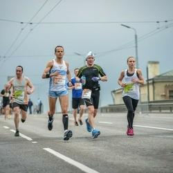 The 26th Lattelecom Riga Marathon - Teppo Härkönen (293), Francesco Rinaldi Tufi (357)