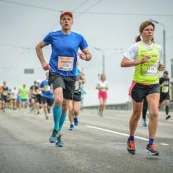 The 26th Lattelecom Riga Marathon - Andrius Tulaba (426), Federica Soriani (2715)