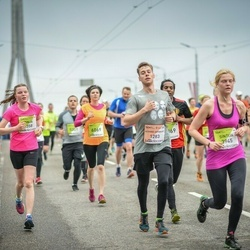 The 26th Lattelecom Riga Marathon - Achard-Arribert Matthieu (1283), Sintija Ondzule (3945)