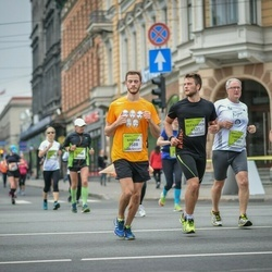The 26th Lattelecom Riga Marathon - Stefan Pycha (3588), Alexander Pycha (4531)
