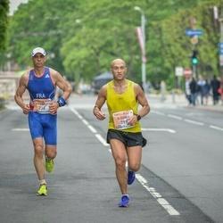 The 26th Lattelecom Riga Marathon - Francis Bak (238), Ilgonis Mazjūlis (399)