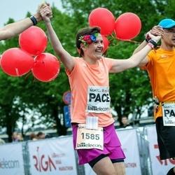 The 26th Lattelecom Riga Marathon - Gatis Kveders (1584), Inga Kāpiņa (1585)