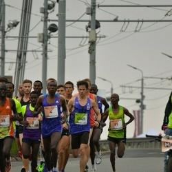 The 26th Lattelecom Riga Marathon - Charles Wachira Maina (4), Dominic Kangor Kimwetich (11), Erik Gramstad (6545)
