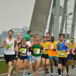 The 26th Lattelecom Riga Marathon - Flávio Nunes (126), Richard Jackson-Hookins (3808), Paola Salvatori (5479), Jānis Škutāns (6532)