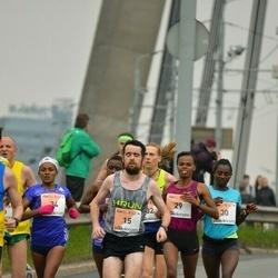 The 26th Lattelecom Riga Marathon - Robert Corbally (15), Mulunesh Zwedu Asefa (29), Abiyot Eshetu Deme (30), Shitaye Gemechu Debellu (34)
